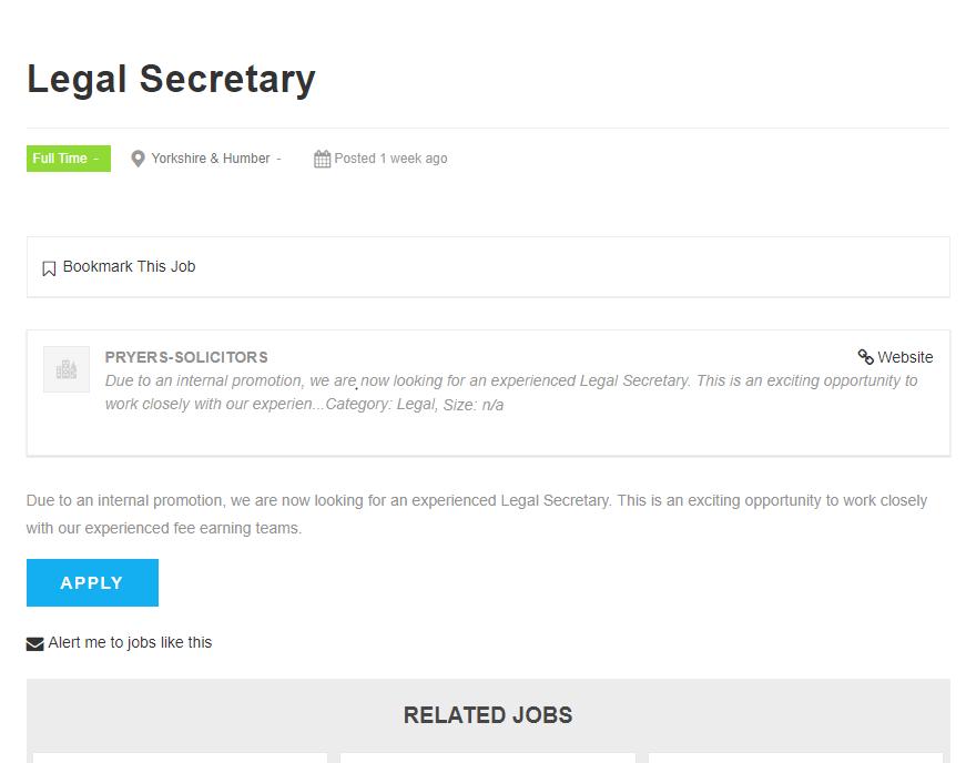 direct vacancy